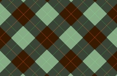Abstract Tartan Pattern Background