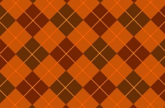 Browny-Orange Tartan