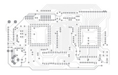 Advanced Circuit Board Illustration