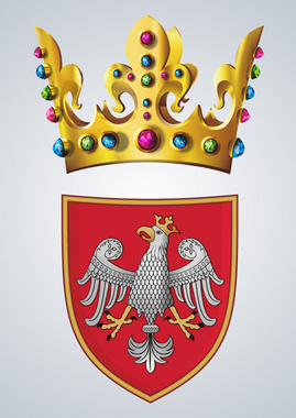 Royal Crown and Crest Vector