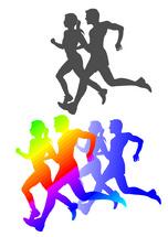 Marathon Concept Illustration