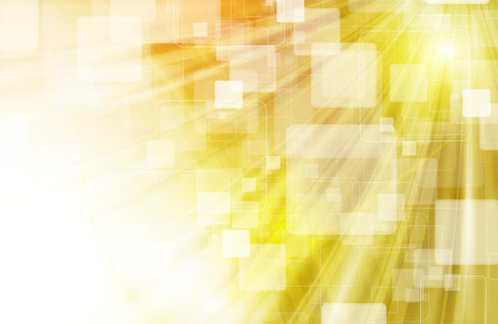 Yellow Vector Abstraction