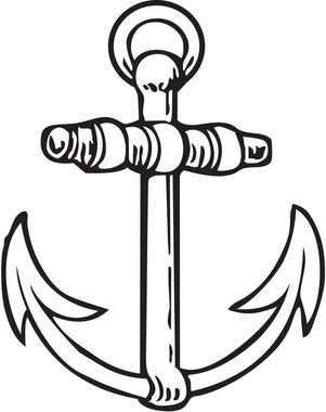 Simple Anchor Illustration