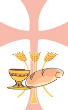 Christian Communion Symbol Vector