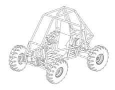 Sand Buggy Vector