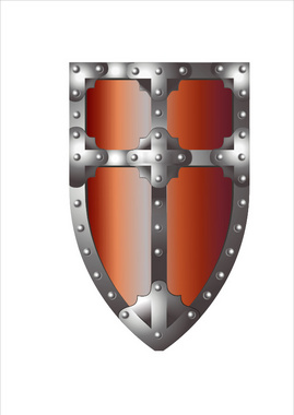 Medieval Crest Illustration