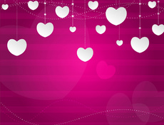 Valentine Pink Love Background
