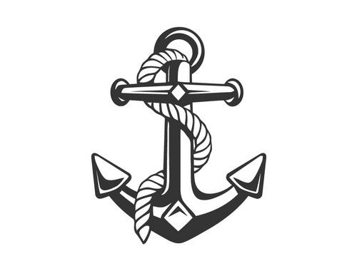 Vector Anchor Illustration