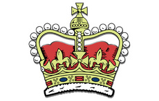 Medieval King Crown Vector Illustration