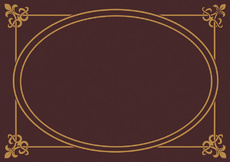 Brown Background Eclipse Frame