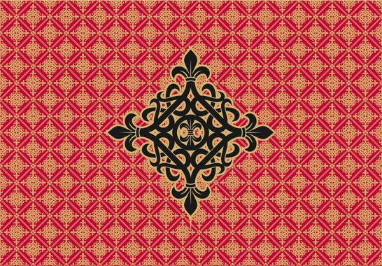 Medieval Ornamental Background
